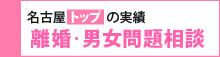 名古屋トップの実績 離婚・男女問題相談